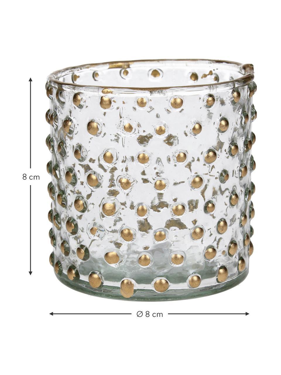 Bougeoir pour bougies chauffe-plat Goldma, Couleur dorée