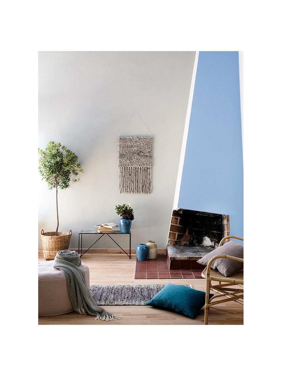 Aufbewahrungskorb Willa, Bambus, Braun, Ø 45 x H 45 cm