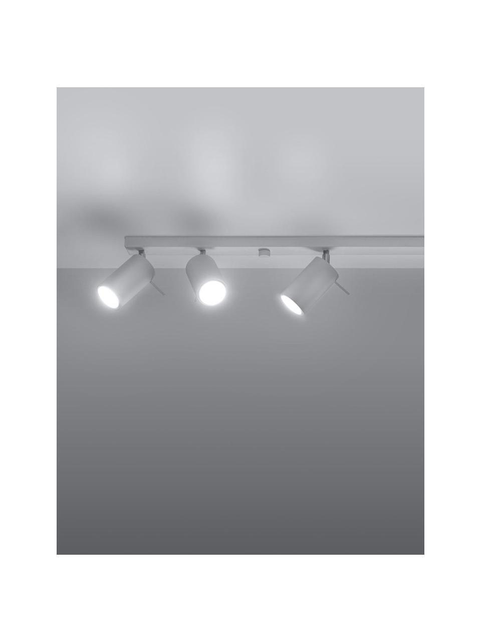 Lampa sufitowa Etna, Biały, S 117 x W 16 cm