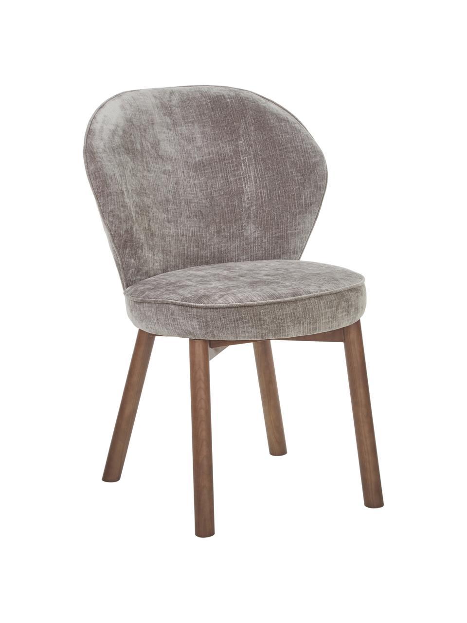 Chaise rembourrée Serena, Gris
