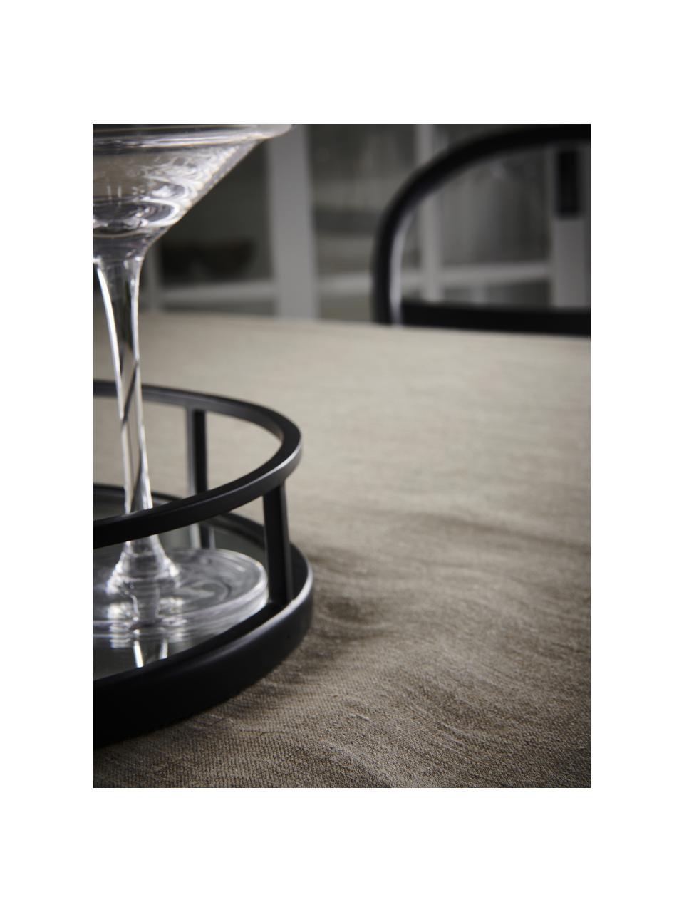 Leinen-Tischdecke Heddie in Beige, 100% Leinen, Beige, Für 4 - 6 Personen (B 145 x L 200 cm)