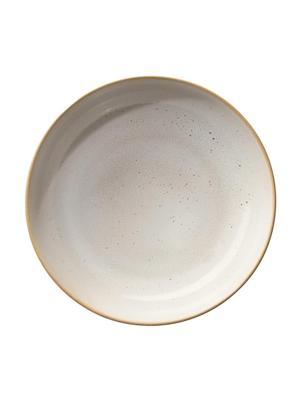 Bol rustique beige Saisons, Ø15cm, 6pièces, Beige