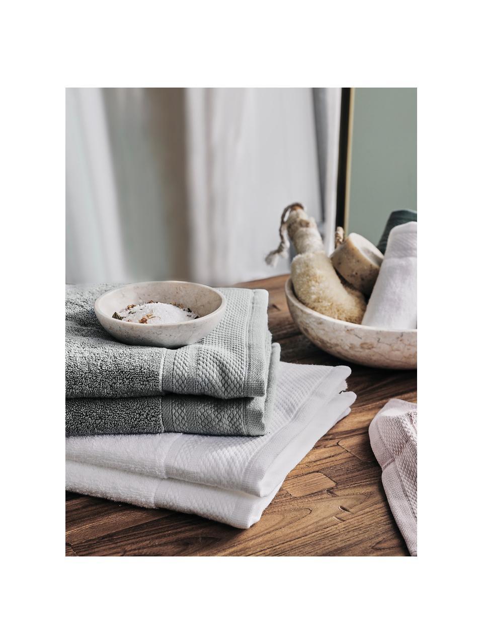 Ręcznik do rąk z lamówką Premium, różne rozmiary, Ciemnyszary, Ręcznik dla gości XS