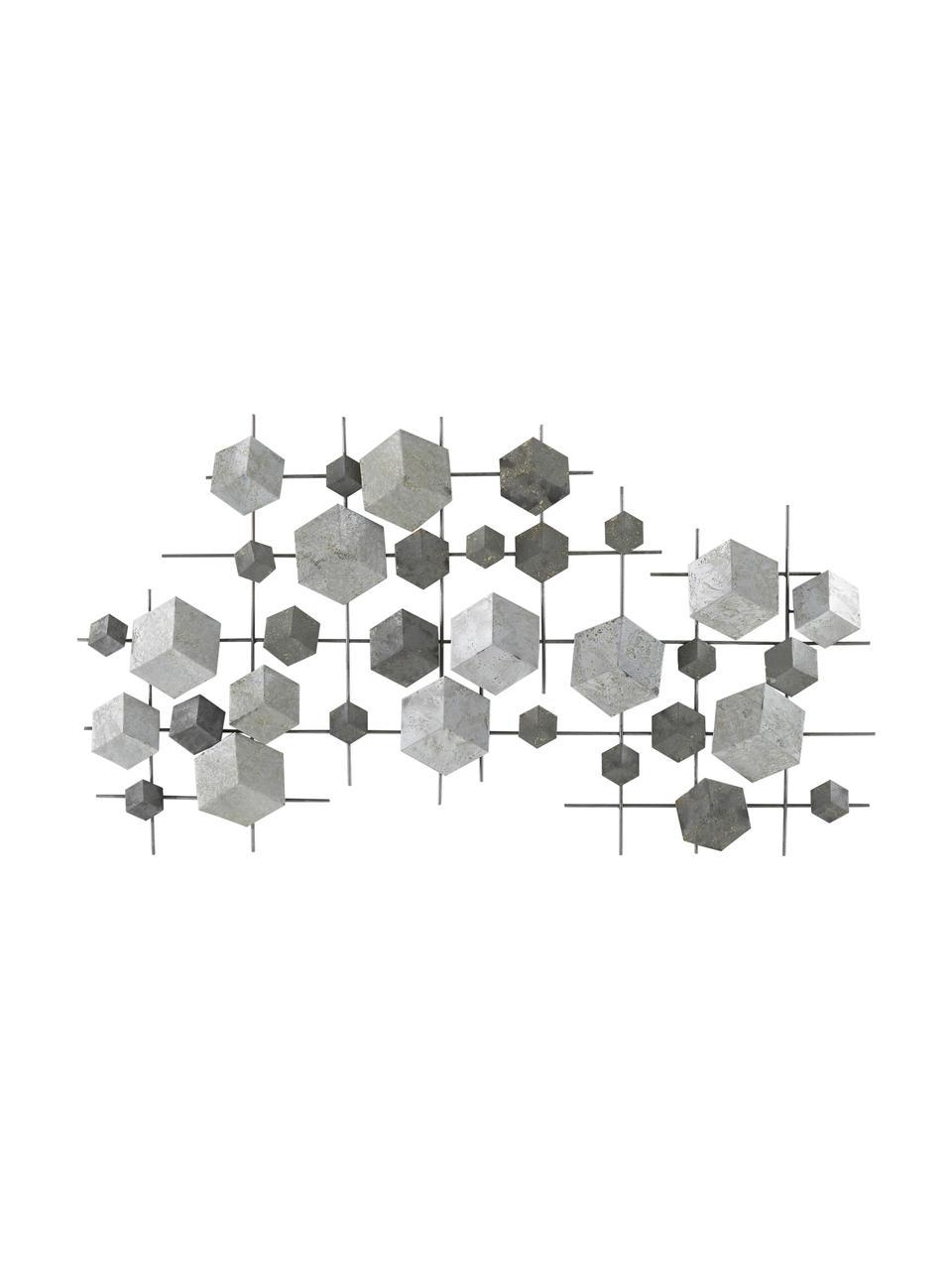 Decorazione Da Parete In Metallo Laccato Cube Westwingnow