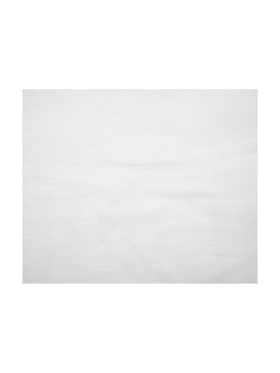 Dubbelzijdig dekbedovertrek Malin, Weeftechniek: renforcé Draaddichtheid 2, Bovenzijde: marmerpatroon, grijs Onderzijde: lichtgrijs, effen, 140 x 200 cm