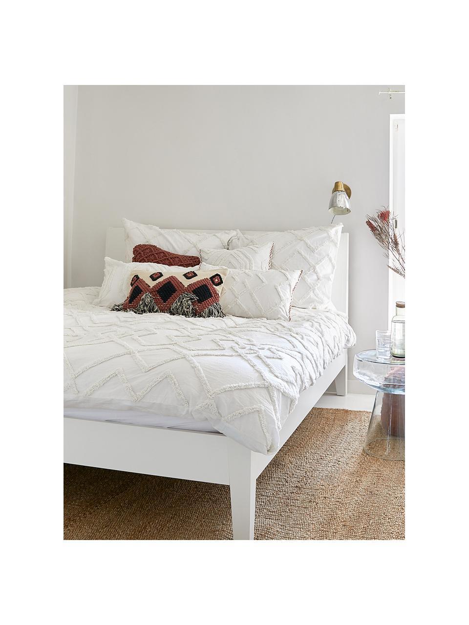 Poszewka na poduszkę Faye, Biały, S 40 x D 60 cm