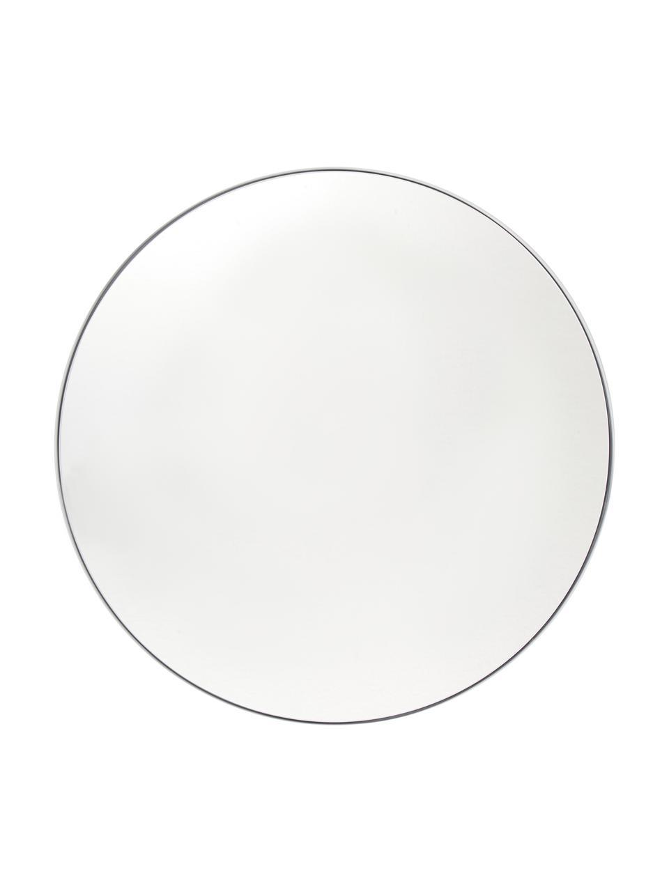 Kulaté nástěnné zrcadlo Ivy, Bílá