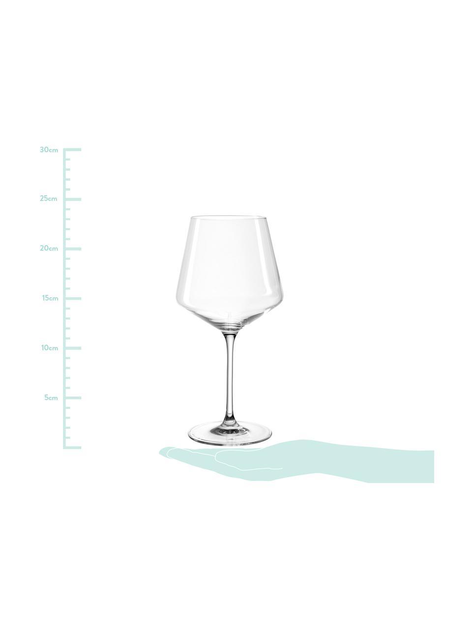 Bicchiere da vino rosso Burgunder Puccini 6 pz, vetro Teqton®, Trasparente, Ø 11 x Alt. 23 cm