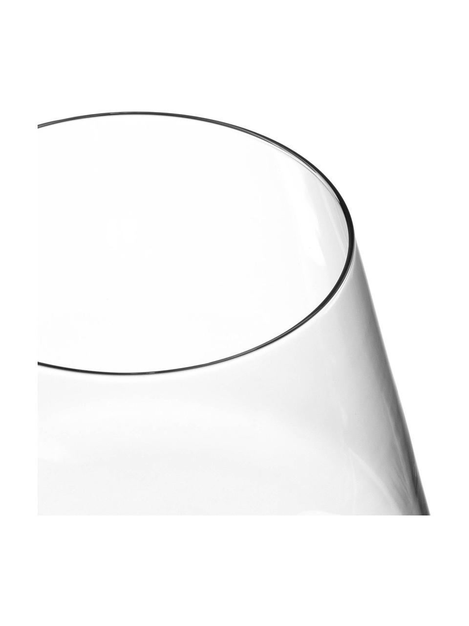 Rode wijnglazen Puccini, 6 stuks, Teqton®-glas, Transparant, Ø 11 x H 23 cm