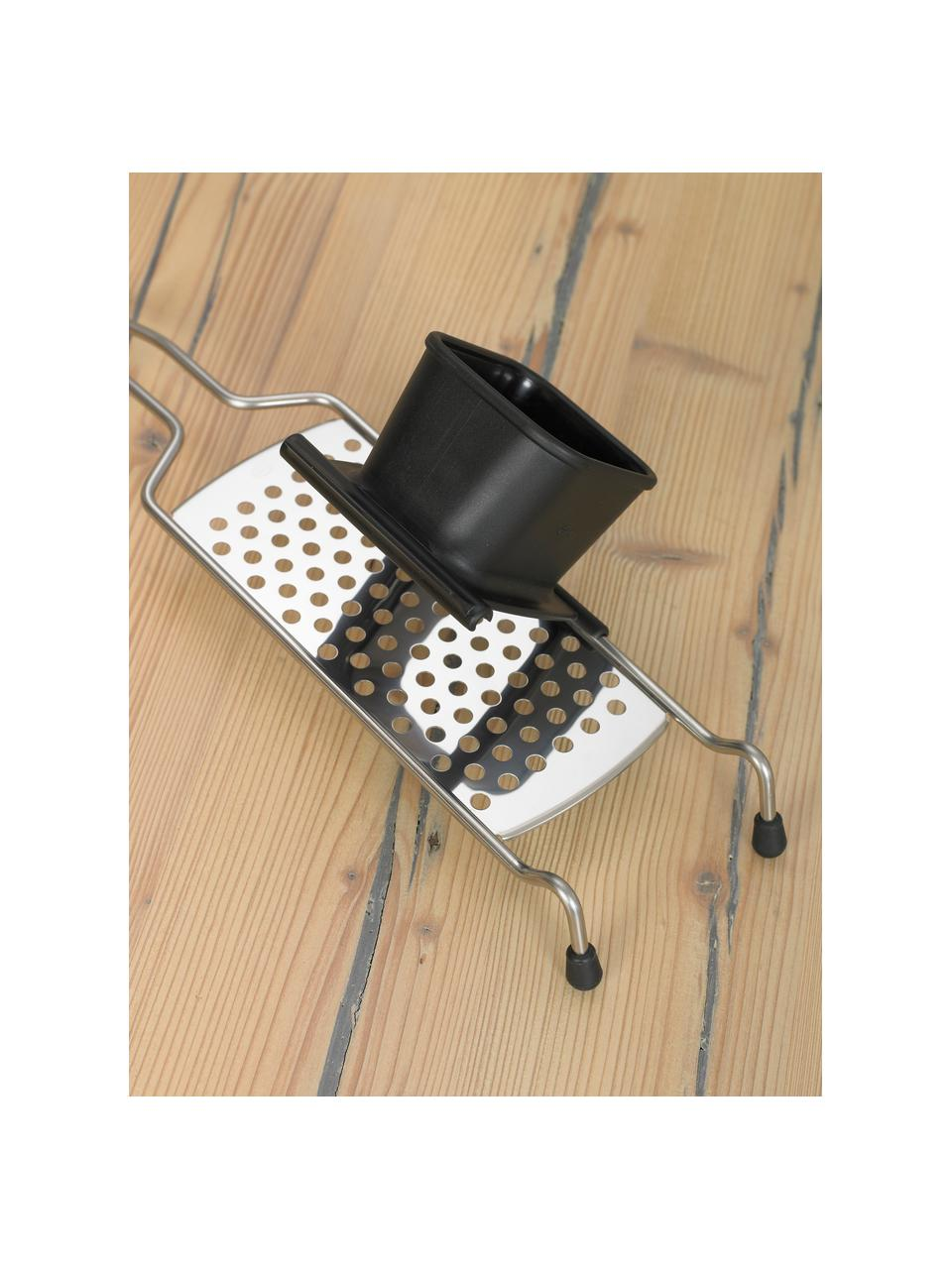 Affettatrice Spaetzle in acciaio inossidabile Dirk, Acciaio inossidabile, nero, Larg. 7 x Lung. 41 cm
