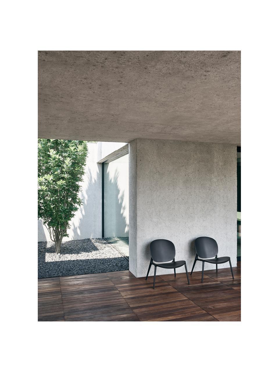 Loungesessel Be Bop aus Kunststoff, Polypropylen, modifiziert, Schwarz, B 69 x T 62 cm