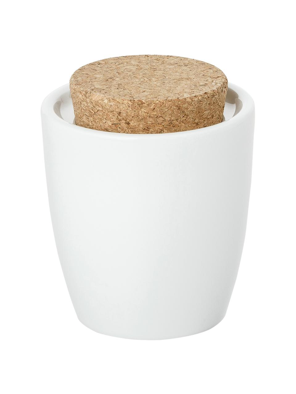 Sucrier en porcelaine avec bouchon Artesano Original, Blanc