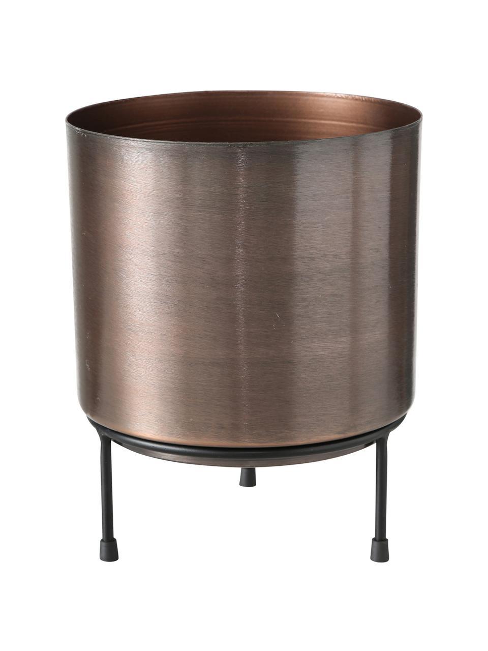 Set 3 portavasi da interno/esterno in metallo Dean, Metallo, Multicolore, Set in varie misure