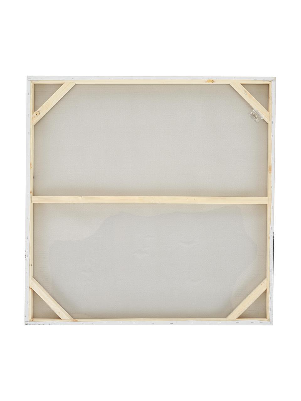Quadro dipinto a mano Texture, Immagine: colori ad olio su tela (3, Barella: legno di abete, Multicolore, Larg. 100 x Alt. 100 cm
