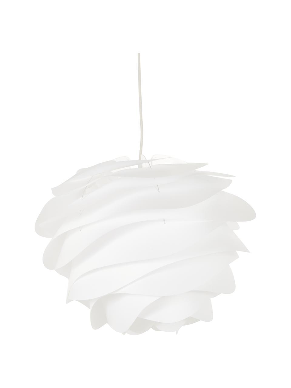 Lampa wisząca Carmina, Biały, Ø 48 x W 36 cm