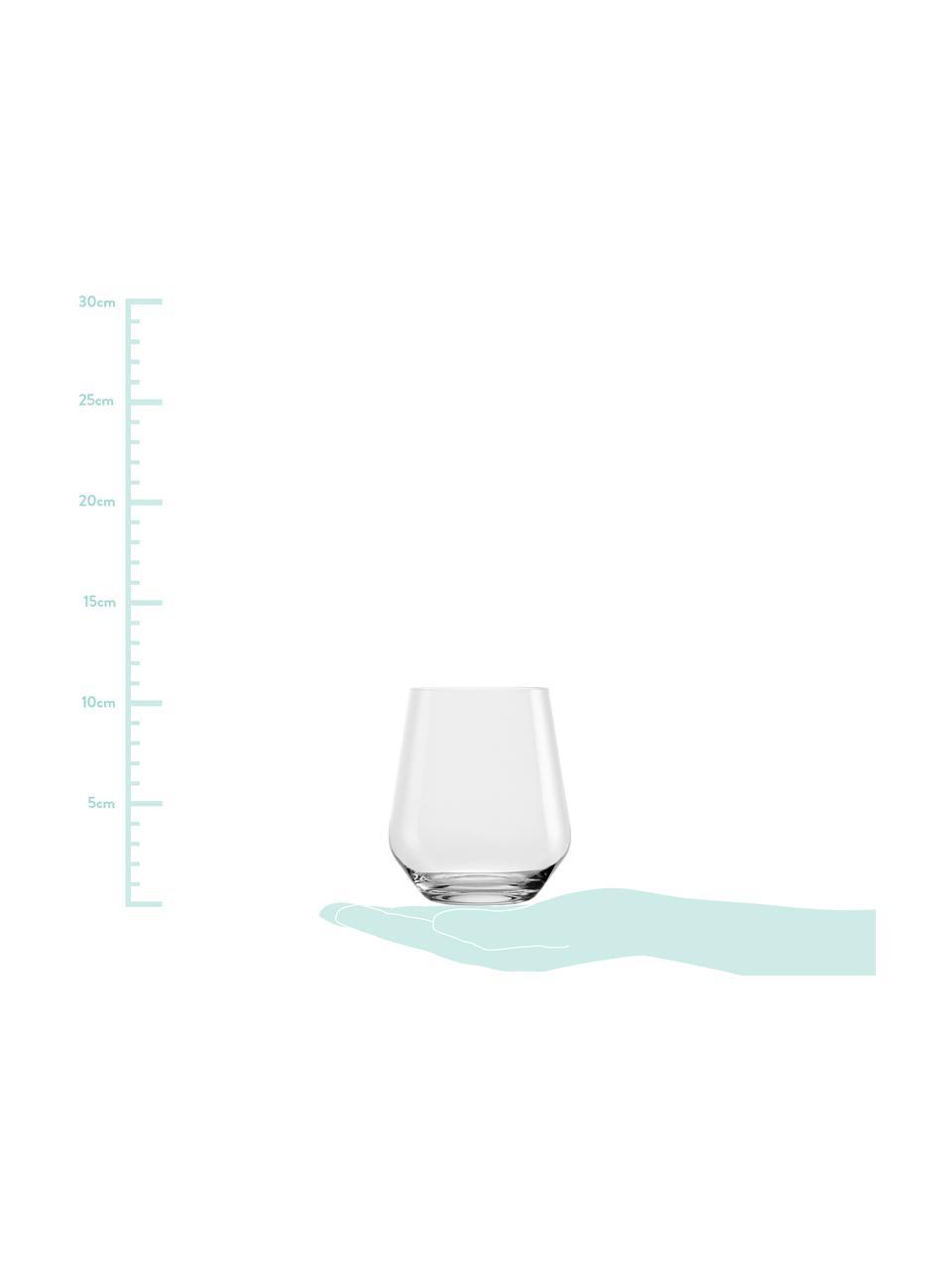 Verre à eau cristal Revolution, 6pièces, Transparent