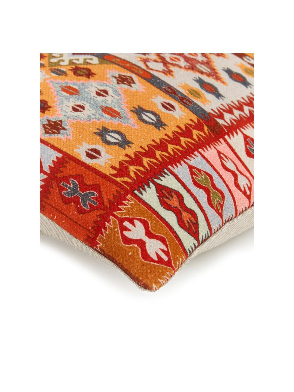 Poszewka na poszewkę etno Budak, 100% bawełna, Wielobarwny, S 45 x D 45 cm
