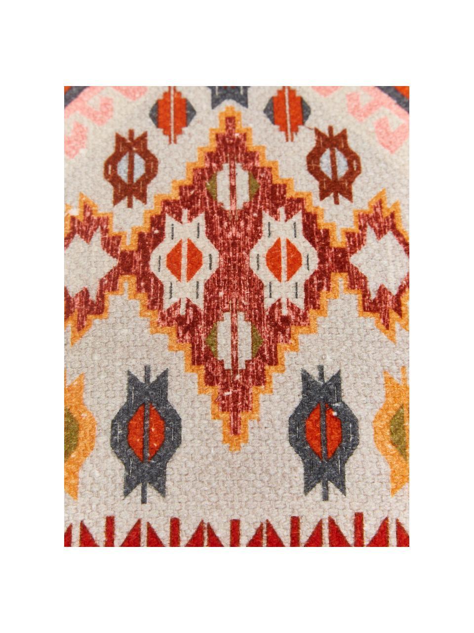 Federa arredo etnica Budak, 100% cotone, Multicolore, Larg. 45 x Lung. 45 cm