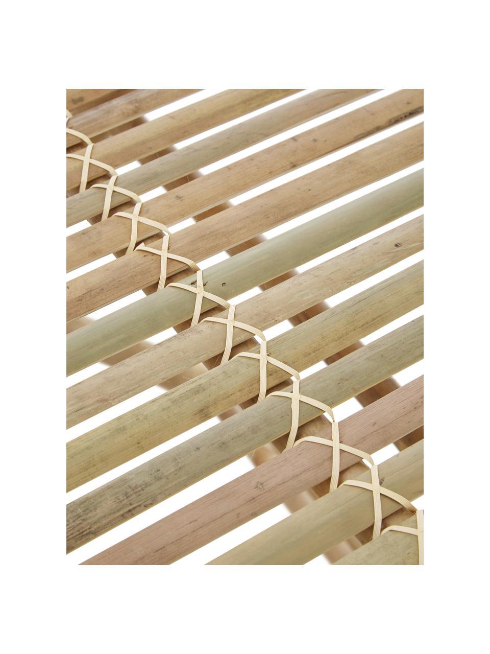 Rozkładany stół ogrodowy z drewna bambusowego Tropical, Drewno bambusowe, Brązowy, S 70 x G 70 cm