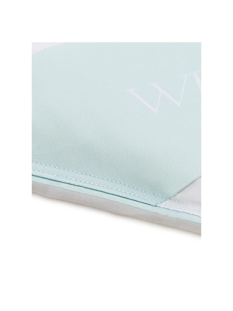 Donzen cassette-dekbed Comfort, licht, Wit, 135 x 200 cm
