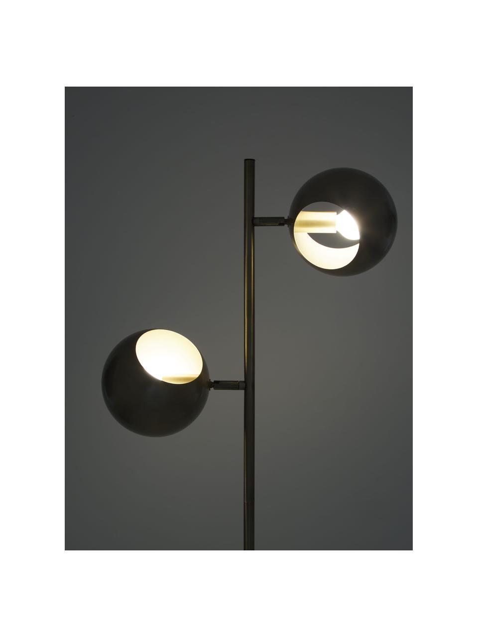 Lampa do czytania z antycznym wykończeniem Edgar, Odcienie mosiądzu z antycznym wykończeniem, S 40 x W 145 cm