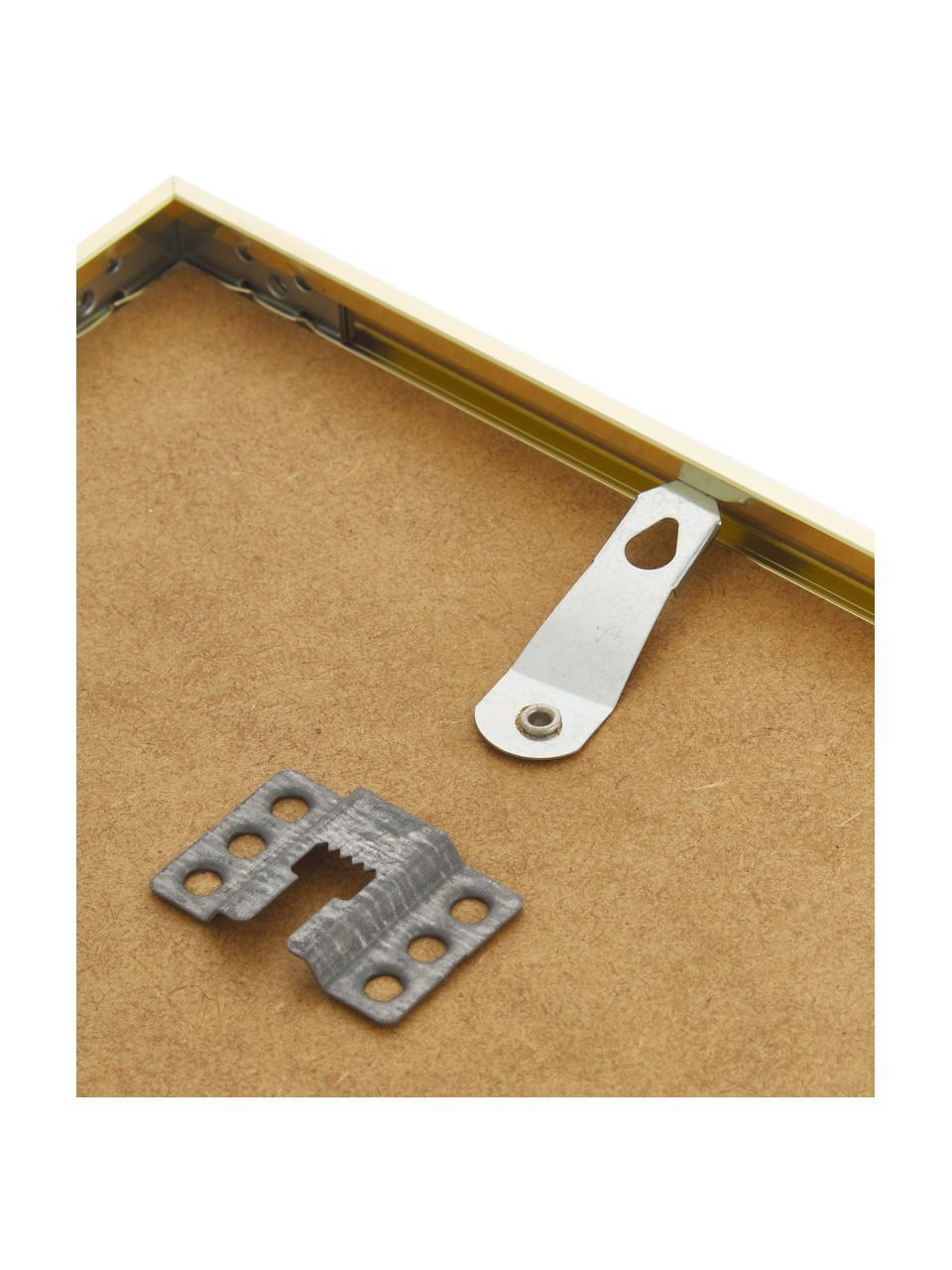 Fotolijstje Accent, Lijst: gecoat aluminium, Messingkleurig, 21 x 30 cm