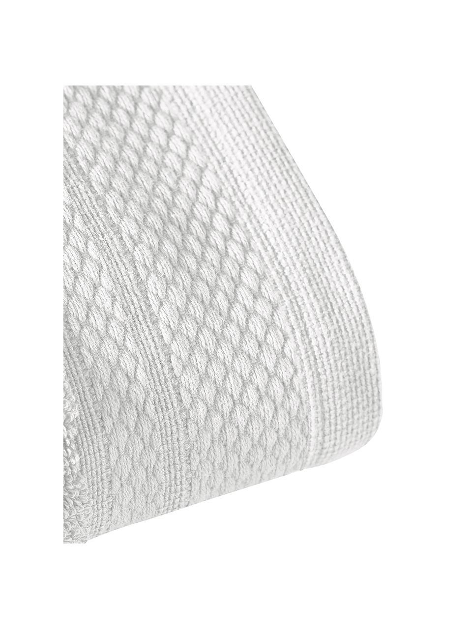 Handtuch-Set Premium mit klassischer Zierbordüre, 3-tlg., Hellgrau, Set mit verschiedenen Größen