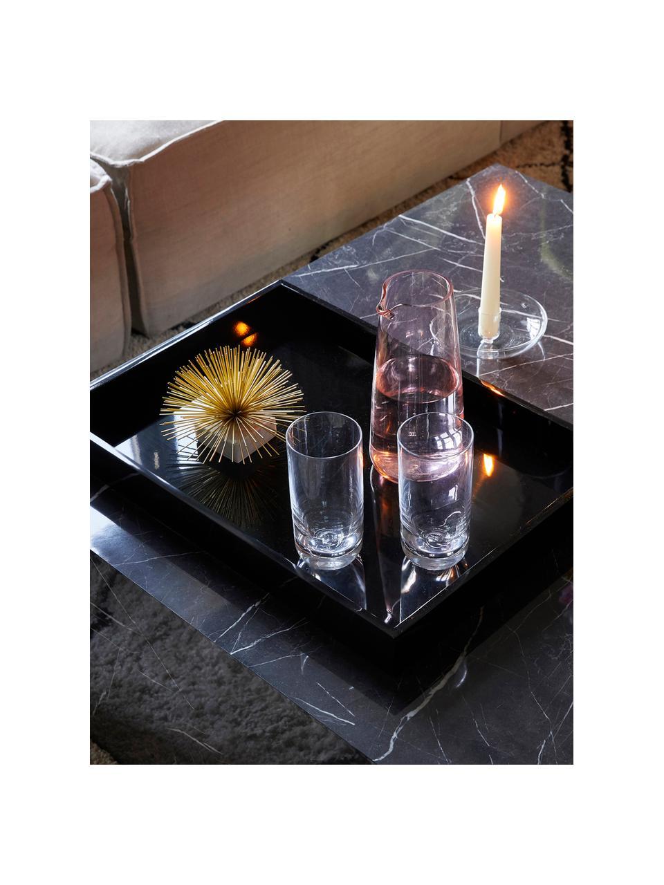 Křišťálová sklenice na long drink Harmony, 6 ks, Transparentní
