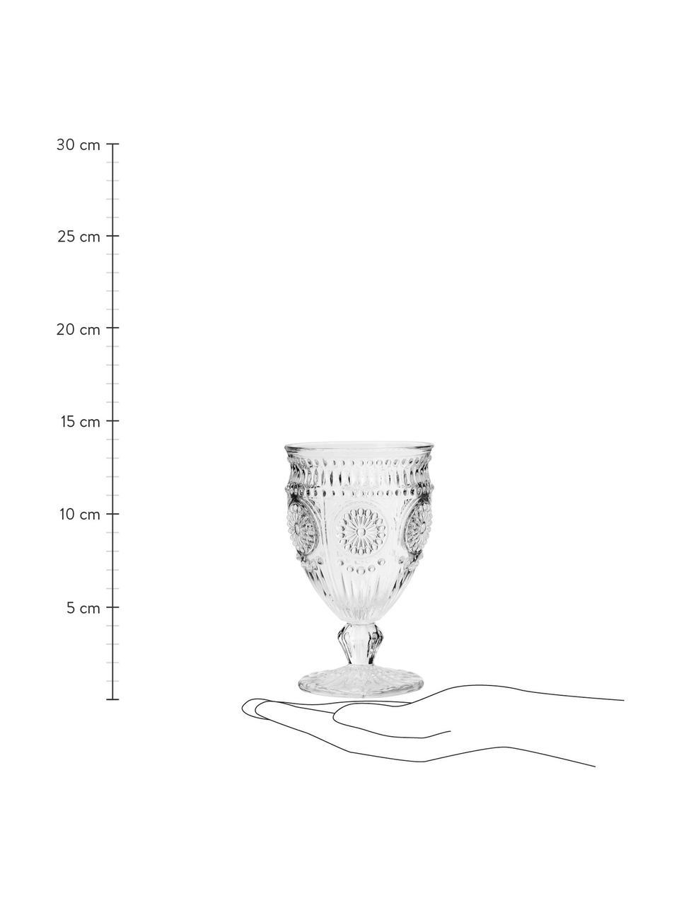 Sklenice na víno Chambord, 6 ks, Transparentní