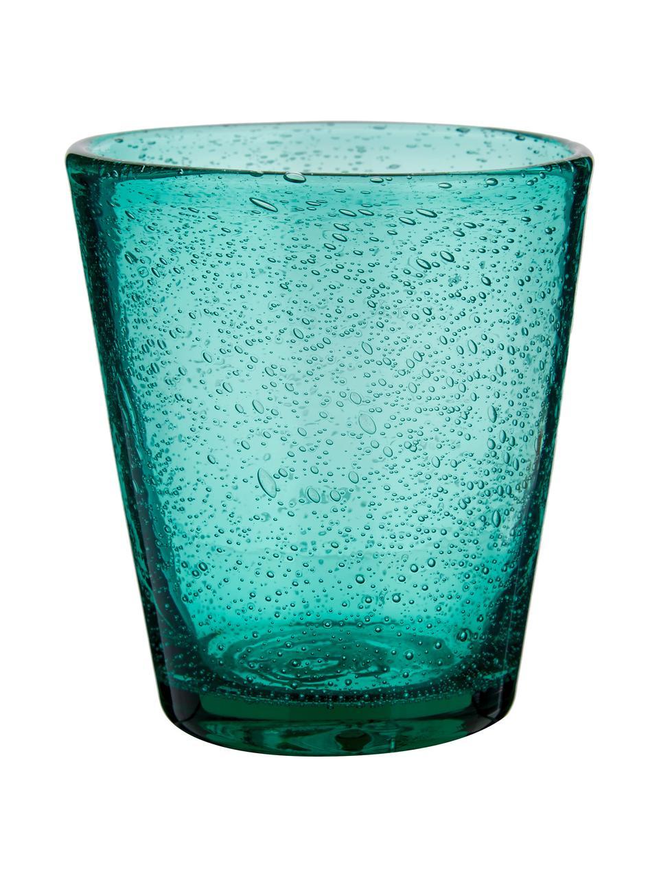 Komplet szklanek Baita, 6 elem., Szkło, Odcienie niebieskiego, Ø 9 x W 10 cm