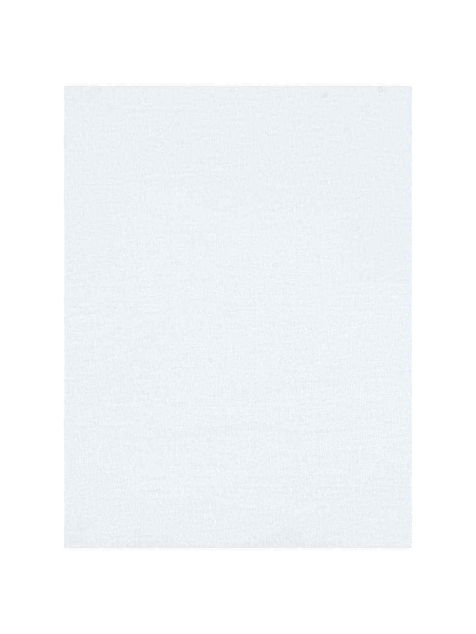 Gewaschene Baumwoll-Bettwäsche Florence mit Rüschen, Webart: Perkal Fadendichte 180 TC, Weiß, 200 x 200 cm + 2 Kissen 80 x 80 cm