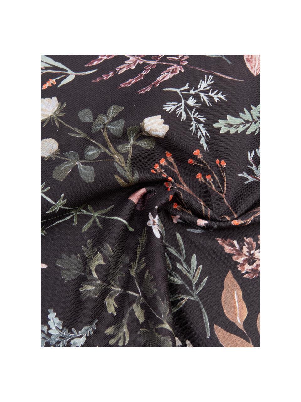 Housse de coussin 45x45 réversible Candice Gray, Multicolore