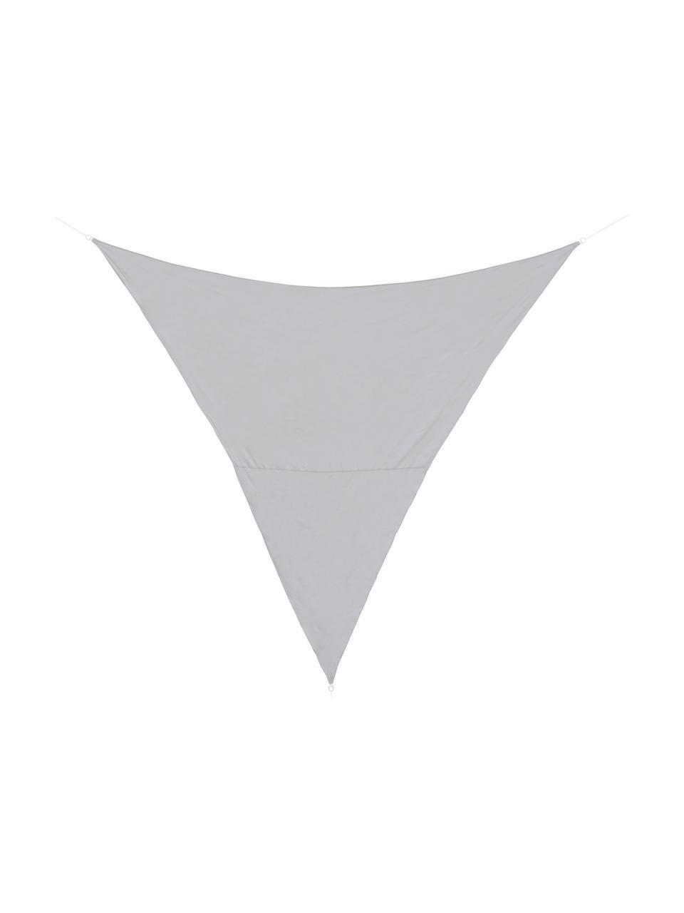 Graues Sonnensegel Triangle, 360 x 360 cm, Grau, 360 x 360 cm