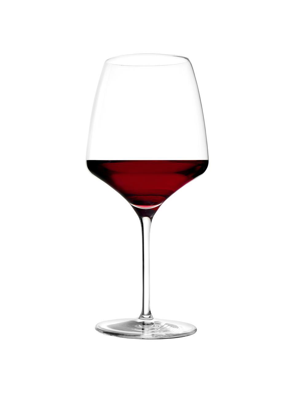 Rode wijnglazen Experience, 6 stuks, Kristalglas, Transparant, Ø 11 x H 23 cm