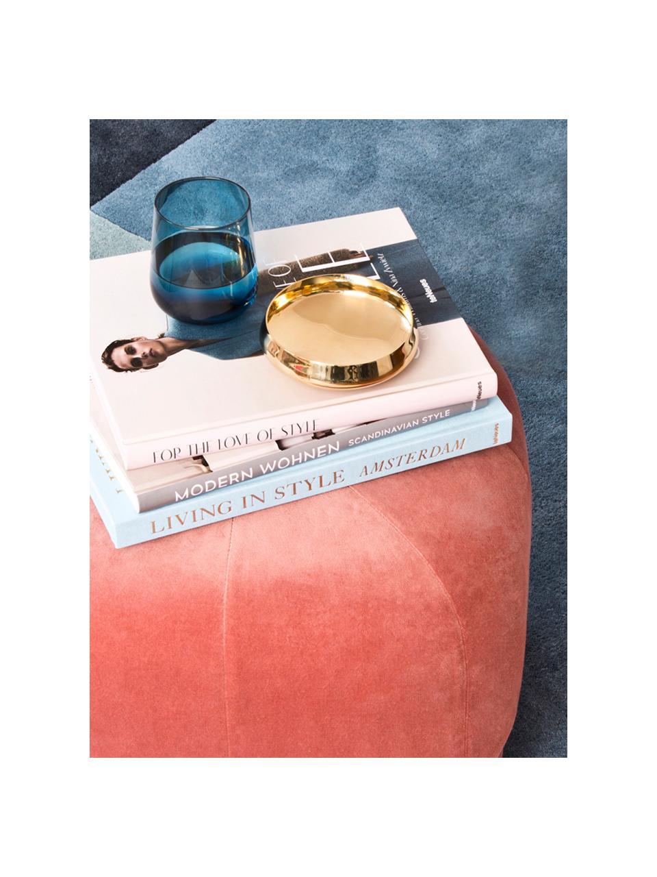 Mondgeblazen kleurrijke waterglazen Desigual in verschillende vormen, 6-delig, Mondgeblazen glas, Multicolour, Ø 8 x H 10 cm