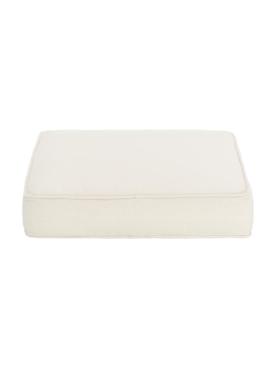 Cuscino sedia alto beige Zoey, Rivestimento: 100% cotone, Beige, Larg. 40 x Lung. 40 cm