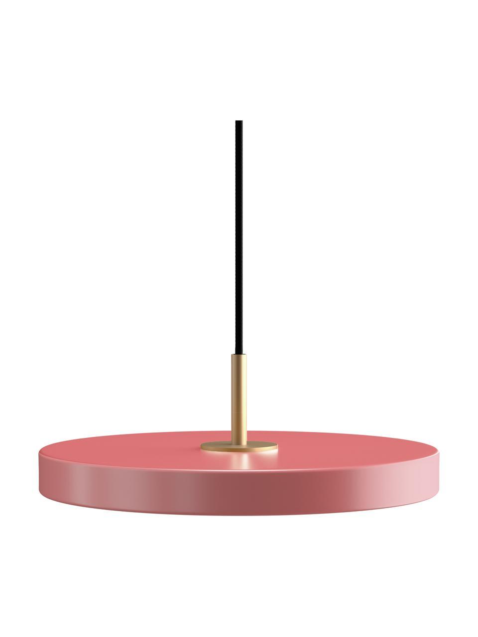 Lampa wisząca LED Asteria, Blady różowy, Ø 31 x W 11 cm