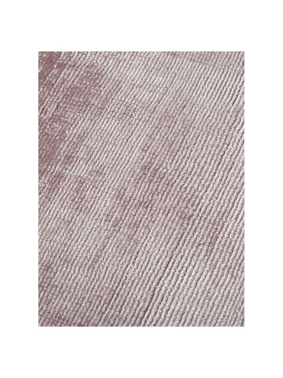 Ręcznie tkany dywan z wiskozy Jane, Liliowy, S 160 x D 230 cm (Rozmiar M)