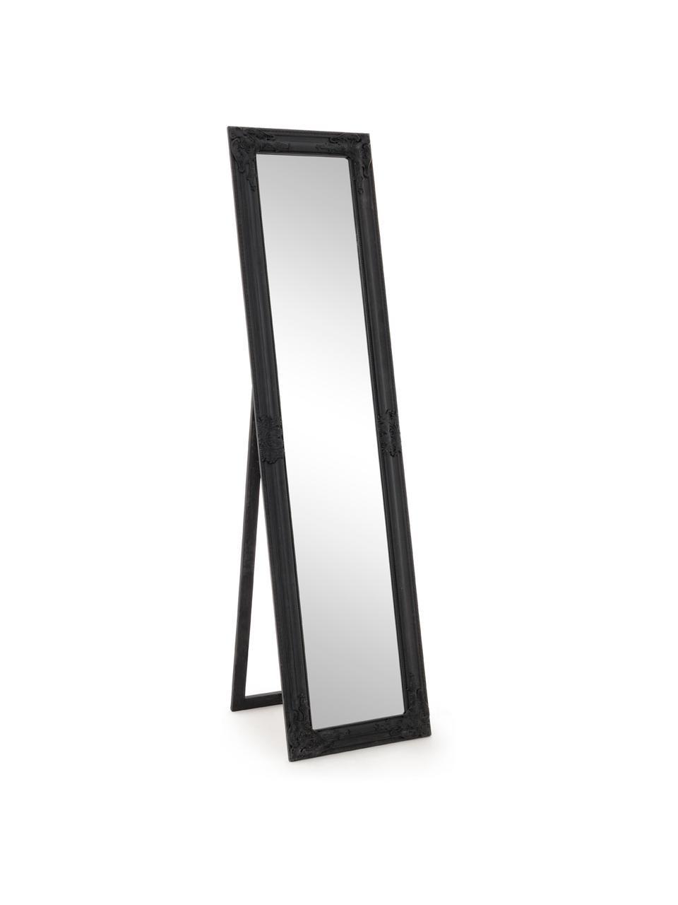 Lustro stojące Miro, Czarny, S 40 x W 160 cm