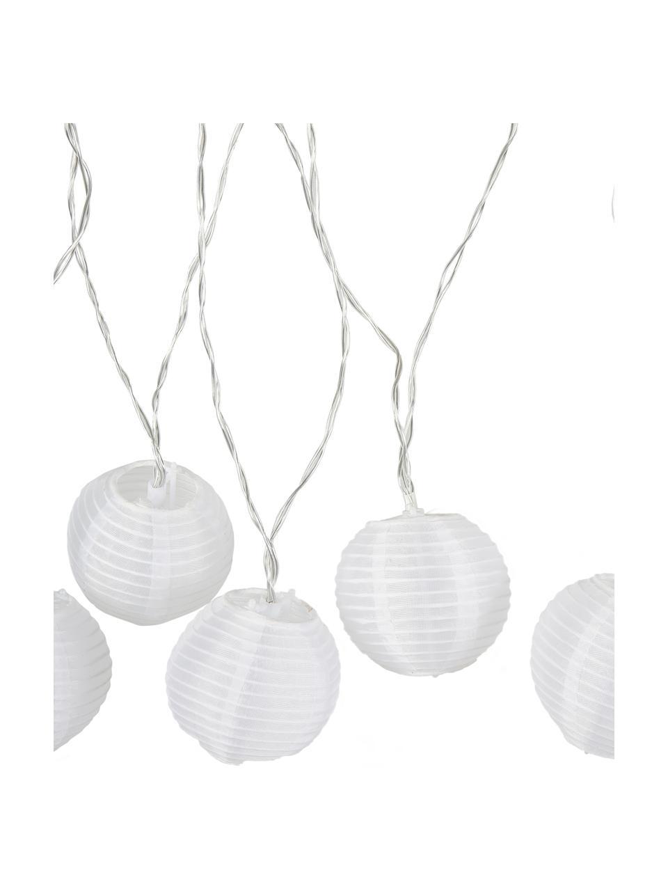 Girlanda świetlna LED Lampion, Biały, D 450 cm