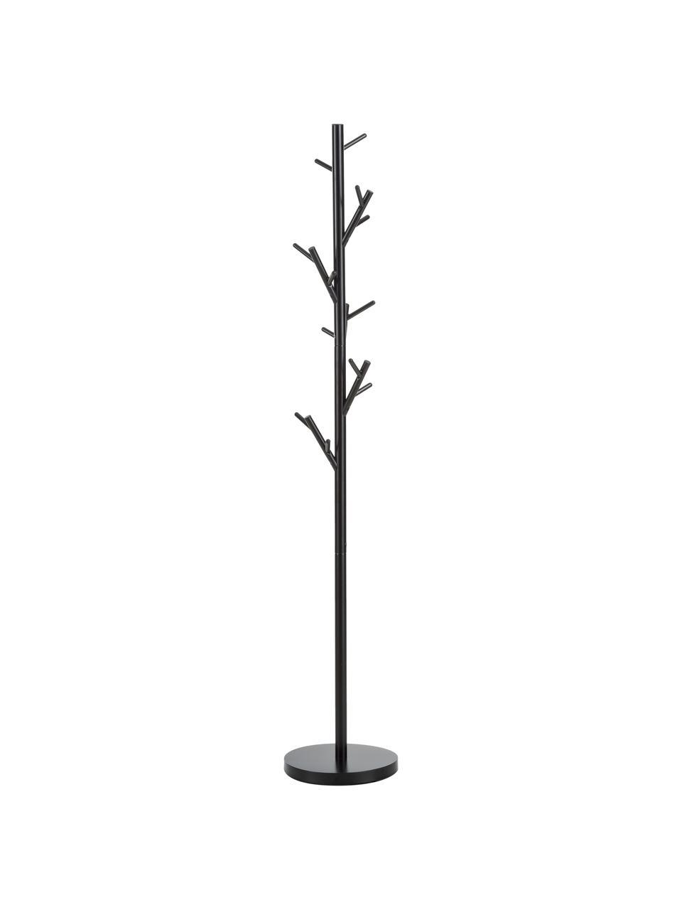 Porte-manteau à 18 crochets Tree, Noir