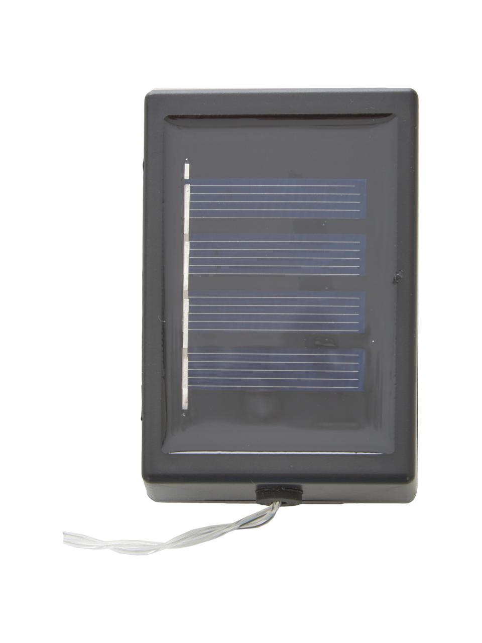 Solar lichtslinger Ball, 270 cm, 10 lampions, Lampions: polyester, rijstpapier, Wit, L 270 cm