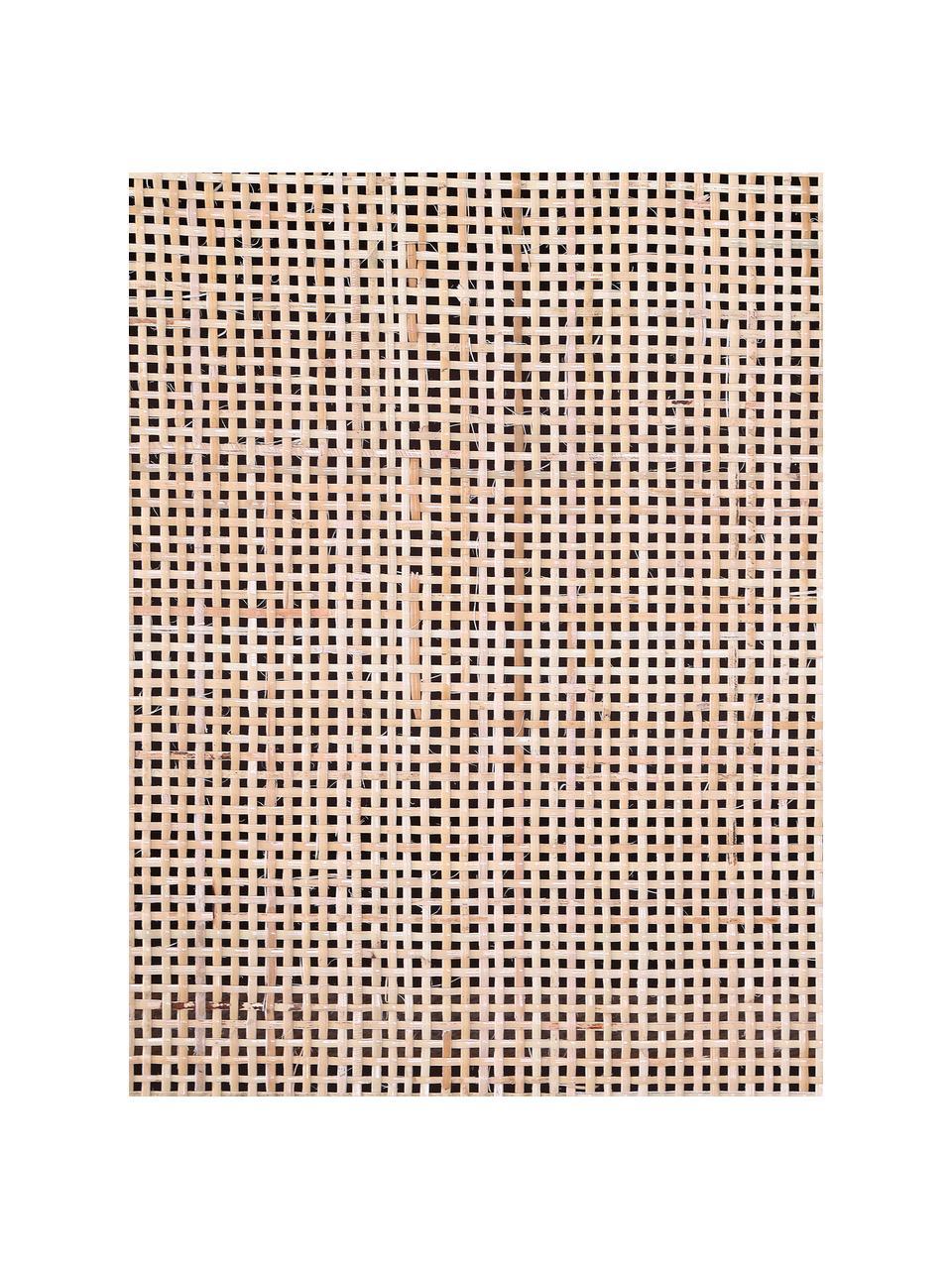 Credenza bassa in legno di mango Larry, Gambe: metallo verniciato, Marrone, Larg. 140 x Alt. 55 cm
