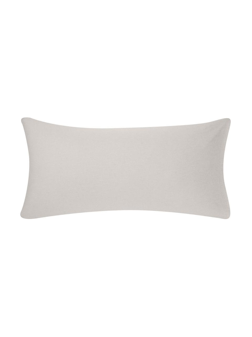 Flanell-Kissenbezüge Biba in Beige, 2 Stück, Webart: Flanell Flanell ist ein k, Beige, 40 x 80 cm
