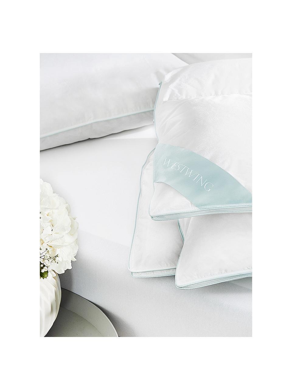 Reine Daunen-Bettdecke Premium, Vierjahreszeiten, Hülle: 100% Baumwolle, feine Mak, Vierjahreszeiten, 135 x 200 cm