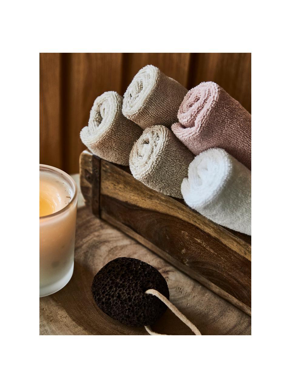 Handtuch Premium in verschiedenen Größen, mit klassischer Zierbordüre, Beige, Handtuch
