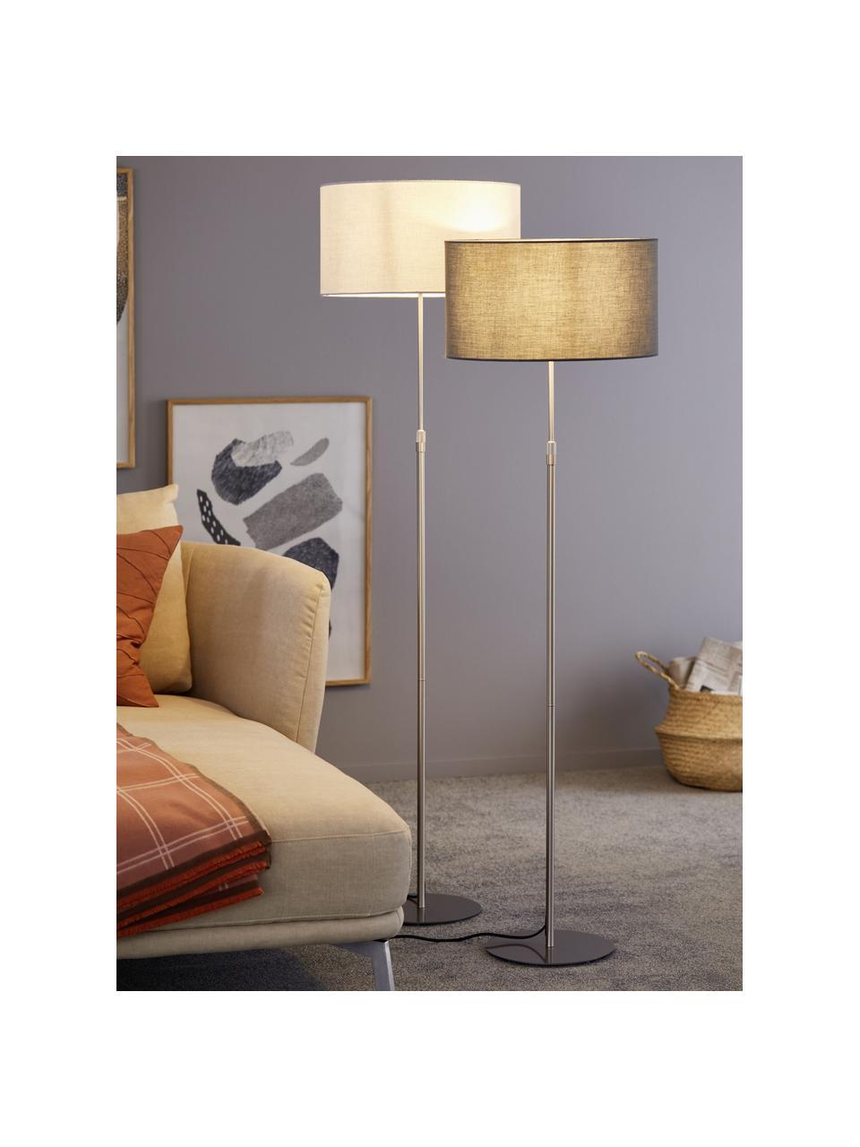 Lampa do czytania Pina, Szary, odcienie srebrnego, Ø 40 x W 150 cm