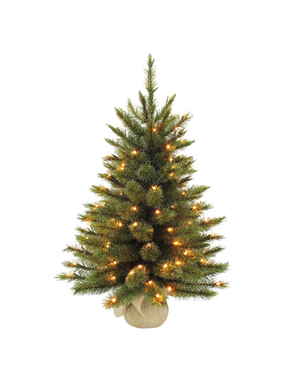 Künstlicher LED Weihnachtsbaum Forest, Grün, Ø 61 x H 90 cm