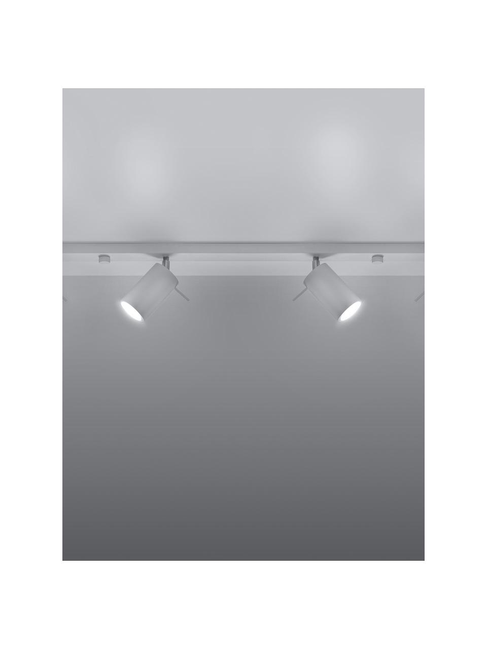 Lampa sufitowa Etna, Biały, S 81 x W 16 cm