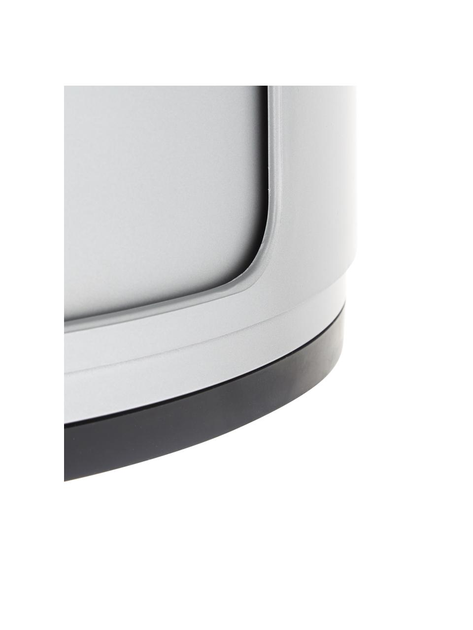 Stolik pomocniczy Componibile, Tworzywo sztuczne (ABS), lakierowane, Odcienie srebrnego, Ø 32 x W 40 cm